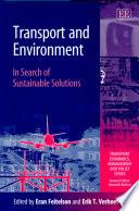 illustration du livre Transport and Environment