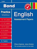 Bond English Assessment Papers 6 7 Years