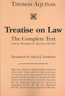 Treatise on Law