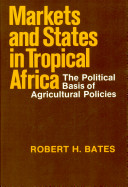 Markets and States in Tropical Africa Incomes From Farming; But Because African