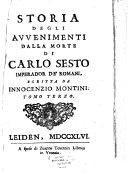 download ebook storia degli avvenimenti dalla morte di carlo sesto imperador de\' romani pdf epub