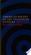 American Poetry of the Twentieth Century
