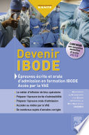 Concours IBODE Charge Le Patient Dans Son