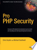 illustration Pro PHP Security