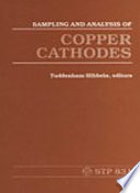 Sampling and Analysis of Copper Cathodes