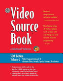 The Video Source Book A Guide to Programs Currently Available on Video in the Areas Of: Movies/entertainment, General Interest/education, Sports/recreation, Fine Arts, Health/science, Business/industry, Children/juvenile, how To/instruction