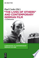 The Lives of Others  and Contemporary German Film