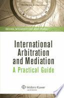International Arbitration and Mediation