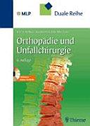 Orthopädie und Unfallchirurgie