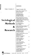 Sociological Methods & Research