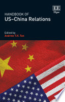 Handbook of US   China Relations