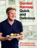 Gordon Ramsay Quick and Delicious Book