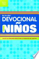 Devocional en un Ano Para Ninos = Devotional in a Year for Children