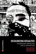 Decolonizing Sexualities
