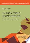 Salamon Ferenc szakmai életútja