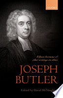 Joseph Butler  Fifteen Sermons and other writings on ethics
