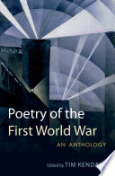Poetry Of The First World War : poets such as wilfred owen and siegfried sassoon...