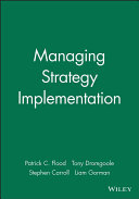 Managing Strategy Implementation