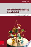 Verständlichkeitsforschung transdisziplinär