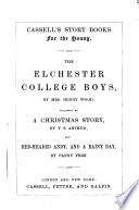 The Elchester college boys [&c.].