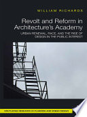 Revolt and Reform in Architecture s Academy