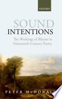 Sound Intentions