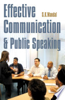 Effective Communication   Public Speaking