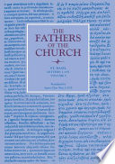 Letters  Volume 1  1   185   The Fathers of the Church  Volume 13