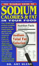 The Nutribase Guide to Sodium  Calories and Fat in Your Food