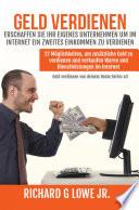 Geld verdienen Erschaffen Sie Ihr eigenes Unternehmen um im Internet ein zweites Einkommen zu verdienen