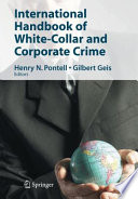 International Handbook of White Collar and Corporate Crime