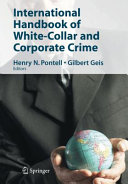 International Handbook of White-Collar and Corporate Crime Book