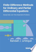 Finite Difference Methods for Ordinary and Partial Differential Equations
