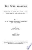 The     Yearbook of the National Society for the Scientific Study of Education