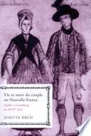 illustration Vie et mort du couple en Nouvelle-France