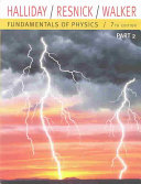 Fundamentals of Physics  Part 2  Chapters 12 20