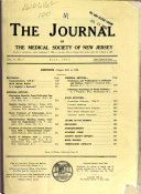Journal Of The Medical Society Of New Jersey
