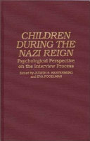 Children During the Nazi Reign