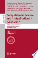 Computational Science and Its Applications     ICCSA 2017