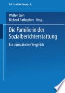 Die Familie In Der Sozialberichterstattung