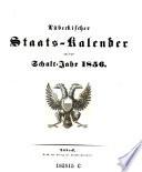 Lübeckischer Staats-Kalender auf das Jahr ...