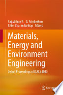 Materials  Energy and Environment Engineering