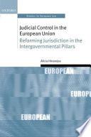 Judicial Control in the European Union