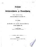 Geschichte der Gelehrtenschulen zu Braunschweig