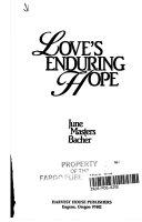 Love s enduring hope