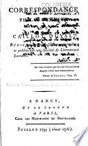 Correspondance philosophique de Caillot Duval