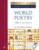 The Facts On File Companion To World Poetry book