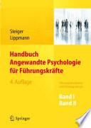 Handbuch Angewandte Psychologie f  r F  hrungskr  fte