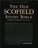 The Old Scofield Study Bible Kjv Pocket Edition Genuine Leather