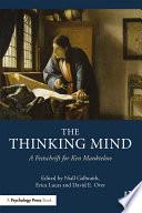 The Thinking Mind Book PDF